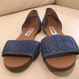 bce8a5a9e93 Blue Steve Madden Sandals